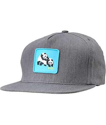 Enjoi Not Hump Charcoal Snapback Hat