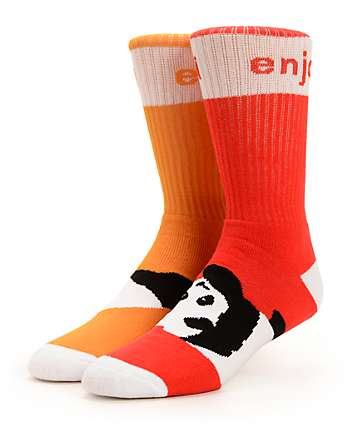 Enjoi Odd Feeture Crew Socks
