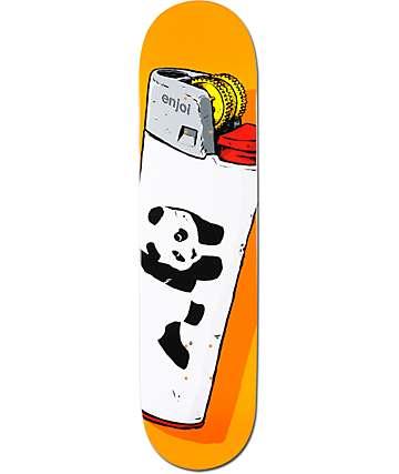 "Enjoi Panda Lighter 7.75""  Skateboard Deck"