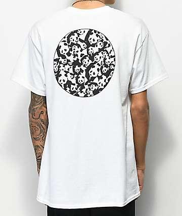 Enjoi Panda Pile White T-Shirt