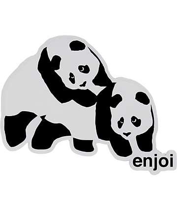 Enjoi Piggyback Panda Sticker