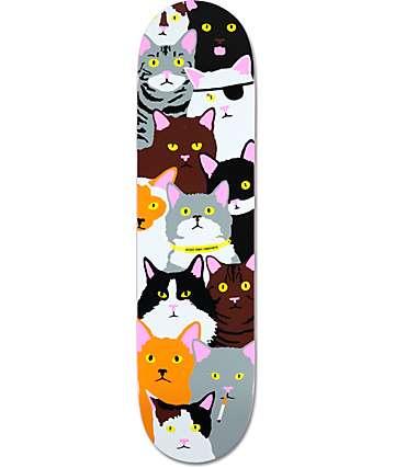 "Enjoi Raemers Cat Collage 8.0""  Skateboard Deck"
