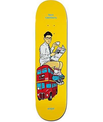 """Enjoi Raemers Upper Decker Bus 8.25"""" Skateboard Deck"""