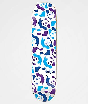 "Enjoi Repeater Cool Blue 8.12"" Skateboard Deck"
