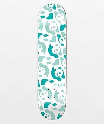 "Enjoi Repeater Green Pastel 8.5"" Skateboard Deck"
