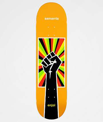 "Enjoi Samarria Uprise 8.25"" Skateboard Deck"