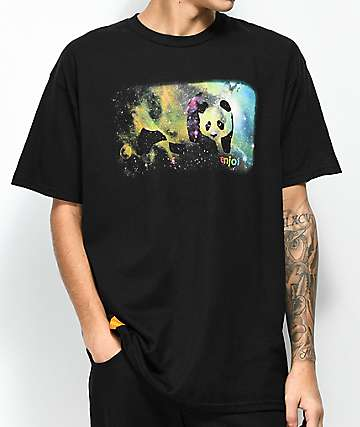 Enjoi Spaced Out camiseta negra