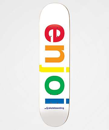 "Enjoi Spectrum Hybrib 8.0"" Skateboard Deck"