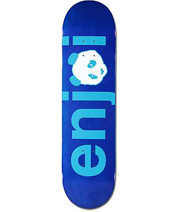 "Enjoi Spectrum No Brainer 8.0"" Blue Skateboard Deck"