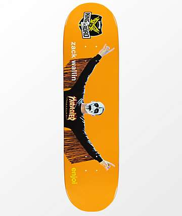 """Enjoi Wallin KOTR 8.5"""" Skateboard Deck"""
