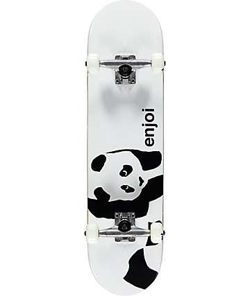 "Enjoi Whitey Panda 7.75"" Skateboard Complete"