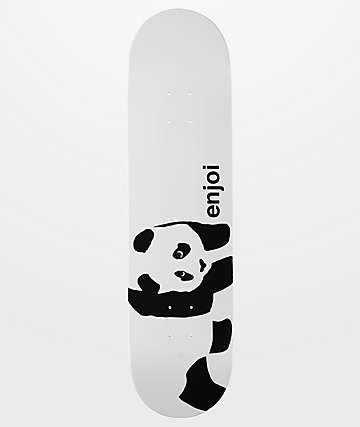 "Enjoi Whitey Panda 8.0"" tabla ancha de skate"