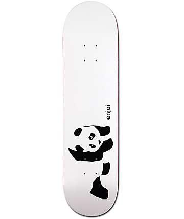 """Enjoi Whitey Panda 8.0"""" Skateboard Deck"""