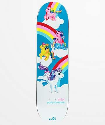 """Enjoi x My Little Pony Dreams 8.25"""" Skateboard Deck"""