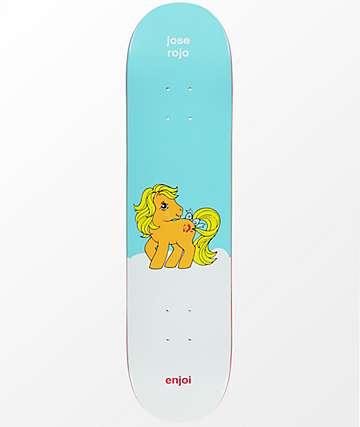 """Enjoi x My Little Pony Rojo 7.75"""" Skateboard Deck"""