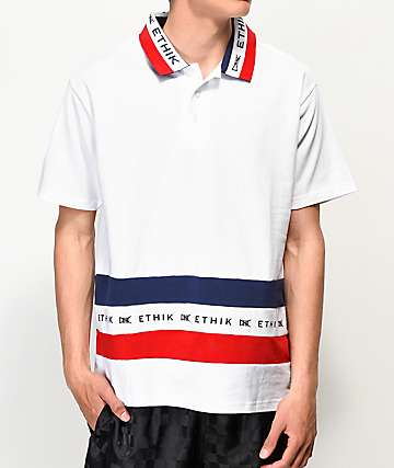 Ethik Club White Polo Shirt