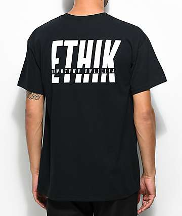 Ethik In The Cut camiseta negra