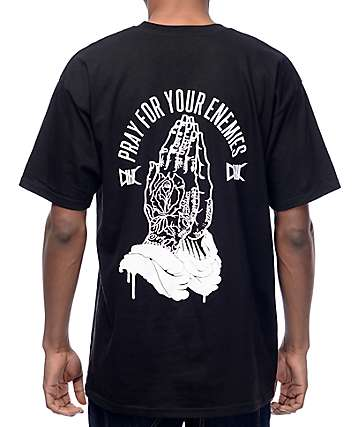 Ethik Pray For Your Enemies camiseta negra
