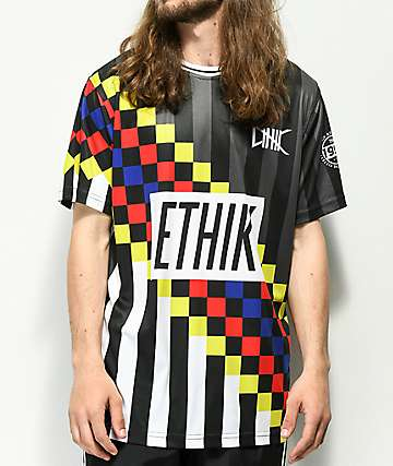 Ethik Premier camiseta de fútbol negra