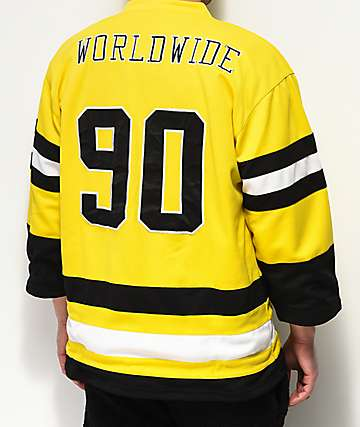 Ethik Worldwide Gold Hockey Jersey