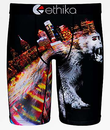 Ethika Boys 12 Monkeys Boxer Briefs