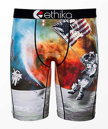 Ethika Boys American Astronaut Boxer Briefs