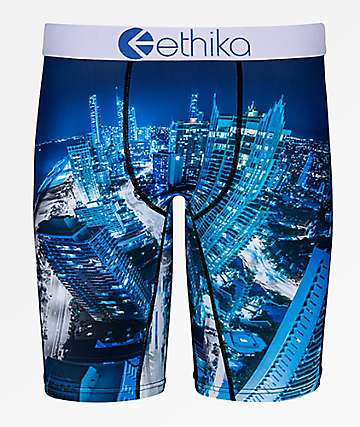 Ethika Boys Aussie Blue Boxer Briefs