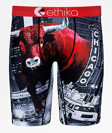Ethika Boys Chicago Bull Boxer Briefs