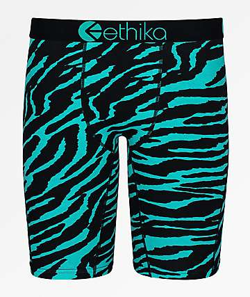 Ethika Boys Diamond Tiger Boxer Briefs