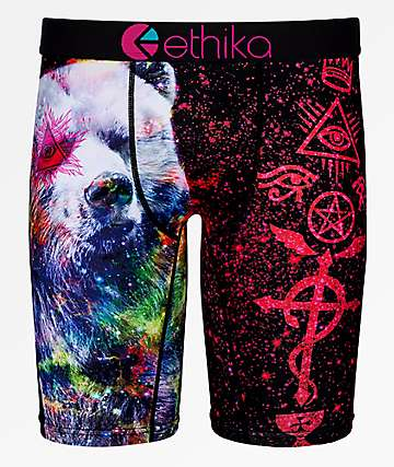 Ethika Boys Mistik Bear Boxer Briefs
