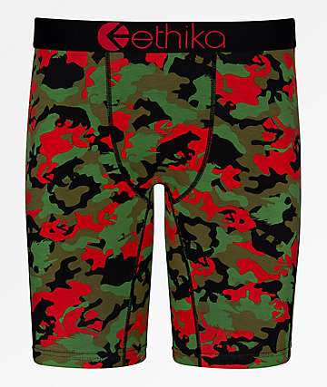 Ethika Boys Prey Camo Boxer Briefs