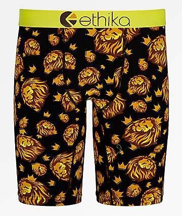 Ethika Boys Royal Camo Boxer Briefs