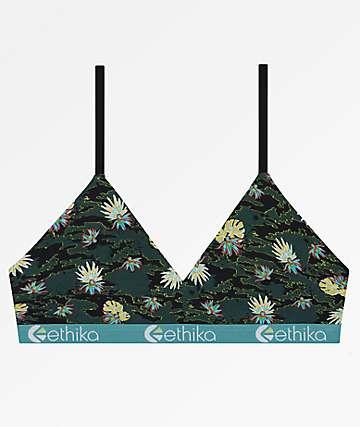 Ethika Camo Paradise Bralette