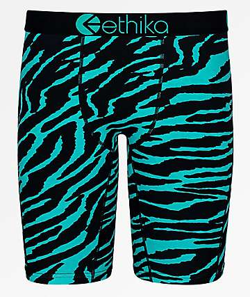 Ethika Diamond Tiger Boxer Briefs