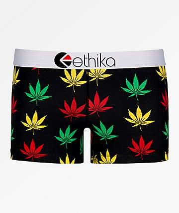 807841903e38 Ethika Happy Leaf Boyshort Panty