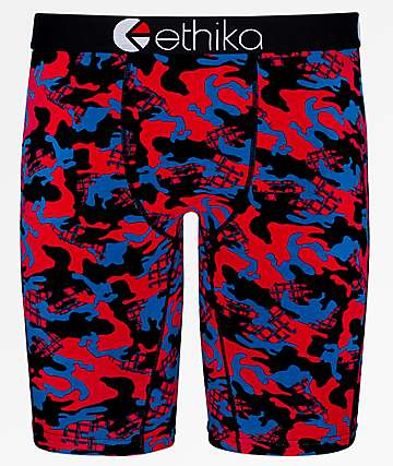 Ethika Jacks Camo Boxer Briefs
