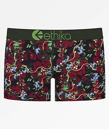 Ethika Limbo Garden Staple Boyshort Panty