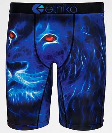 Ethika Mufasa calzoncillos bóxer en azul para niños
