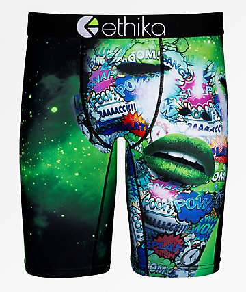 Ethika Poison Ivy Black Boxer Briefs