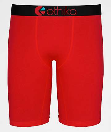 Ethika Red Machine Boxer Briefs