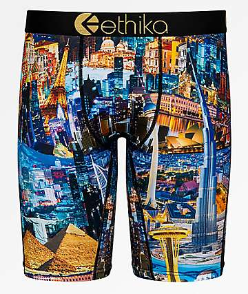 Ethika Small World Boxer Briefs
