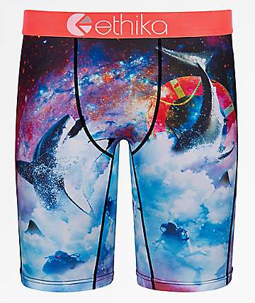 Ethika Space Sharks Boxer Briefs