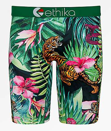Ethika Tropic Tiger Boxer Briefs