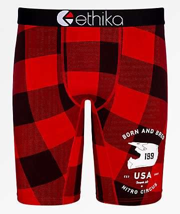 Ethika x Nitro Circus Lumberjack Boxer Briefs