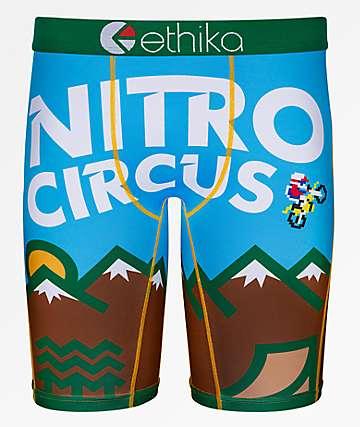 Ethika x Nitro Circus Parks & Rec calzoncillos boxer