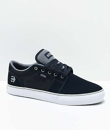 Etnies Barge LS zapatos de skate azul marino y grises