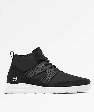 Etnies Beta Black & White Shoes