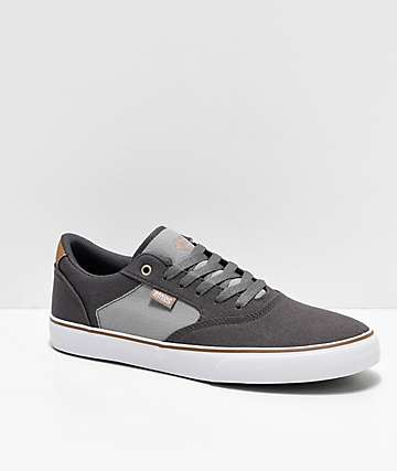 Etnies Blitz Grey & Light Grey Skate Shoes