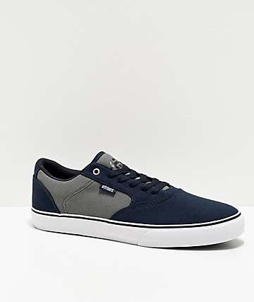 Etnies Blitz Navy & Grey Skate Shoes