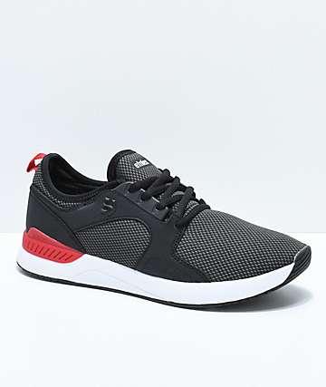 Etnies Cyprus SC Sheckler zapatos negros, rojos y blancos
